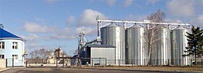 Grain elevator in Poltava region (Ukraine) / 1